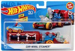 HOT WHEELS -  VEHICLE - CAR-NIVAL STEAMER