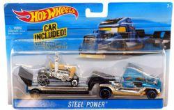 HOT WHEELS -  VEHICLE - STEEL POWER