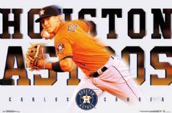 HOUSTON ASTROS -  CARLOS CORREA # 1 POSTER (22