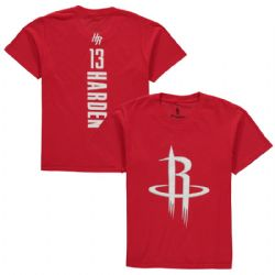 HOUSTON ROCKETS -  JAMES HARDEN #13 T-SHIRT - RED