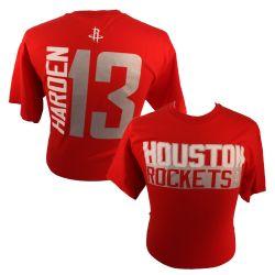 HOUSTON ROCKETS -  JAMES HARDEN #13 T-SHIRT - RED