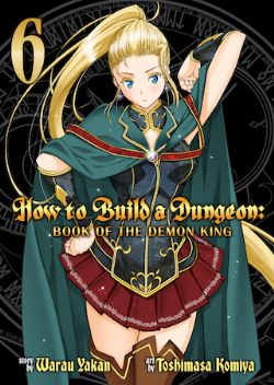 HOW TO BUILD A DUNGEON, BOOK OF THE DEMON KING -  (ENGLISH V.) 06
