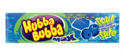 HUBBA BUBBA -  BUBBLE GUM - SOUR BLUE RASPBERRY