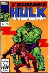 HULK -  ÉDITION 1986 -  L'INCROYABLE HULK 180