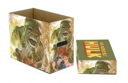 HULK -  200 COMICS CARDBOARD BOX