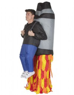 HUMOR -  INFLATABLE JET PACK COSTUME (CHILD - ONE SIZE)