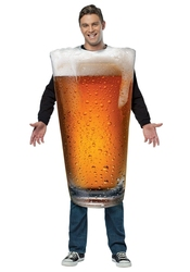 HUMORISTIC -  BEER PINT COSTUME (ADULT - ONE-SIZE)