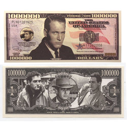 HUMORISTIC BILLS -  PAUL NEWMAN - UNITED STATES ONE MILLION DOLLARS BILL