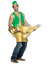 HUMORISTIC -  GENIE IN THE LAMP COSTUME (ADULT - ONE-SIZE)