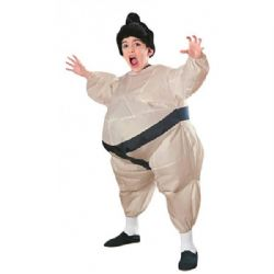 HUMORISTIC -  INFLATEABLE SUMO COSTUME (CHILD)