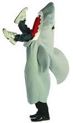 HUMORISTIC -  MAN EATING SHARK COSTUME (ADULT - ONE-SIZE)