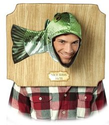 HUMORISTIC -  NICE BASS TROPHY COSTUME (ADULT - ONE-SIZE)