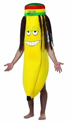 HUMORISTIC -  RASTA BANANA COSTUME (ADULT - ONE-SIZE)