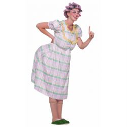 HUMOUR -  AUNT GERTIE COSTUME (ADULT)