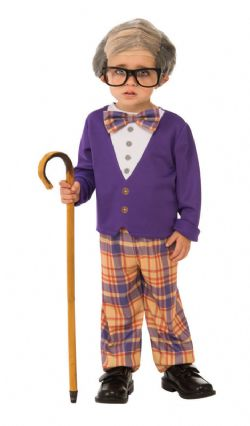 HUMOUR -  LITTLE OLD MAN COSTUME (INFANT & TODDLER)