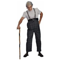 HUMOUR -  UNCLE BERT COSTUME (ADULT - FITS UP TO CHEST SIZE 42IN)