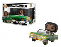 ICE CUBE -  POP! VINYL FIGURE OF ICE CUBE WITH IMPALA (7.5 INCH) 81