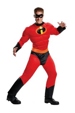 INCREDIBLES, THE -  MR. INCREDIBLE COSTUME (ADULT - LARGE/XLARGE 42-46)