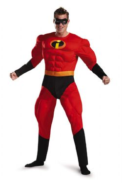 INCREDIBLES, THE -  MR. INCREDIBLE COSTUME (ADULT)