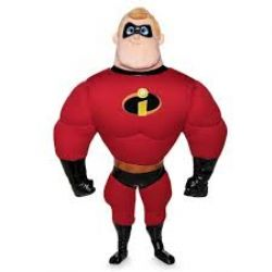 INCREDIBLES, THE -  MR. INCREDIBLE PLUSH (19