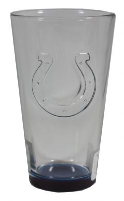 INDIANAPOLIS COLTS -  EMBOSSED PINT 16OZ