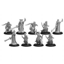 INFERNALS -  CULTIST BAND AND DARK SENTINELS UNIT WITH ATTACHMENTS -  WARMACHINE