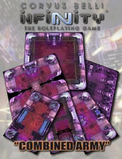 INFINITY RPG -  COMBINED ARMY -  GEOMORPHIC TILE SET