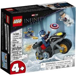 INFINITY SAGA -  CAPTAIN AMERICA AND HYDRA FACE-OFF (49 PIECES) 76189