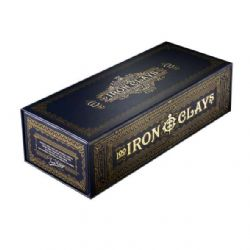 IRON CLAYS -  100 LUXURY GAME COUNTERS