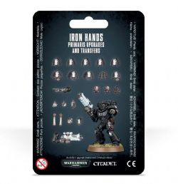 IRON HANDS -  PRIMARIS UPGRADES AND TRANSFERS