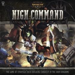 IRON KINGDOMS -  HIGH COMMAND - WARMACHINE -  WARMACHINE