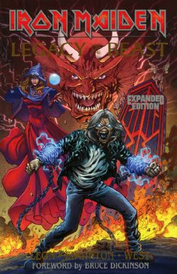 IRON MAIDEN -  LEGACY OF THE BEAST TP -  EXPANDED EDITION