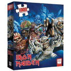 IRON MAIDEN PUZZLE -  THE FACES OF EDDIE (1000 PIECES)