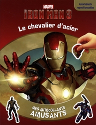 IRON MAN 3 -  LE CHEVALIER D'ACIER - MES AUTOCOLLANTS AMUSANTS