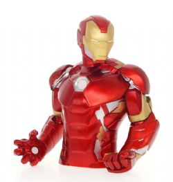 IRON MAN -  IRON MAN BUST MONEY BANK