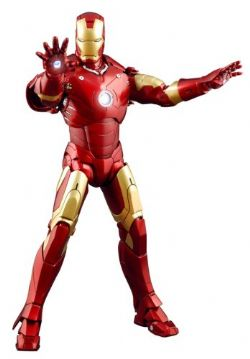 IRON MAN -  IRON MAN FIGURE (12INCHES) -  MOVIE MASTERPIECE MARK III