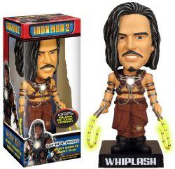 IRON MAN -  USED WACKY WOBBLER WHIPLASH BOBBLE-HEAD -  IRON MAN