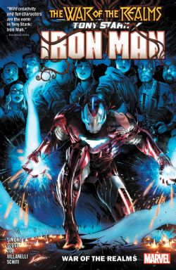 IRON MAN -  WAR OF REALMS TP -  TONY STARK IRON MAN 03