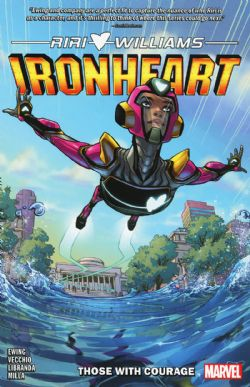 IRONHEART -  THOSE WITH COURAGE TP 01