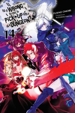 IS IT WRONG TO TRY TO PICK UP GIRLS IN A DUNGEON? -  -NOVEL- (ENGLISH V.) 14