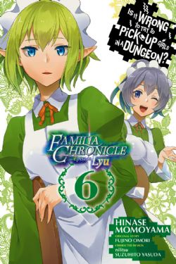 IS IT WRONG TO TRY TO PICK UP GIRLS IN A DUNGEON? -  (ENGLISH V.) -  FAMILIA CHRONICLE EPISODE LYU 06