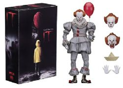 IT -  PENNYWISE ACTION FIGURE WITH ACCESSORIES (7