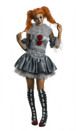 IT -  PENNYWISE COSTUME (ADULT)
