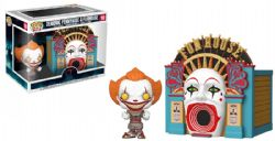IT -  POP! VINYL FIGURE OF DEMONIC PENNYWISE & FUNHOUSE (4 INCH) 10