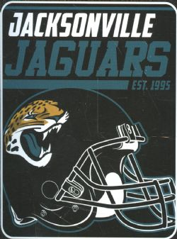 JACKSONVILLE JAGUARS -  SUPER SOFT THROW (46