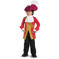 JAKE AND THE NEVER LAND PIRATES -  CAPTAIN HOOK COSTUME (CHILD) -  DISNEY JUNIOR