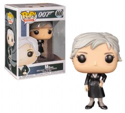 JAMES BOND -  POP! VINYL FIGURE OF M (4 INCH) -  GOLDENEYE 800