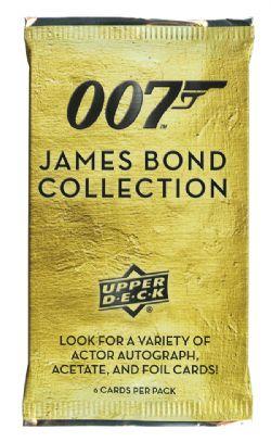JAMES BOND -  UPPER DECK JAMES BOND COLLECTION TRADING CARDS (P6/B18)