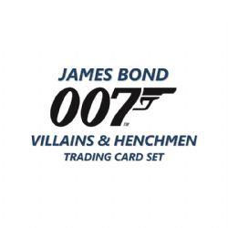 JAMES BOND -  UPPER DECK VILLAINS & HENCHMEN CARDS (P5/B18/C12)