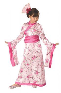 JAPANESE -  CHERRY BLOSSOM PRINCESS COSTUME (CHILD)